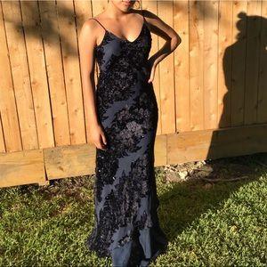 Dresses & Skirts - Niki By:Niki Livas Formal Blue Pattern Dress